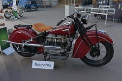1940 Indian Four (pontfire) Tags: véhicule de collection oldtimer ancienne antique vieille old moto motorcycle motobike bike motocyclette bonhams lesgrandesmarquesdumondeaugrandpalais2018 オートバイ motorrad motocicleta 摩托车