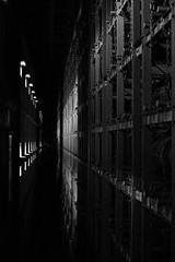 aging room, Hakushu Distillery, Yamanashi, Japan (Plan R) Tags: aging room hakushu distillery whisky monochrome blackandwhite leica m 240 noctilux 50mm window rack barrel