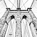 Brooklyn Bridge (drawing filter)