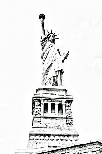 Statue of Liberty (drawing filter)