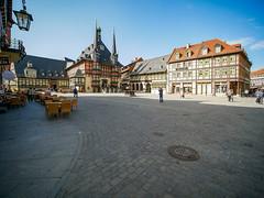 Wernigerode . Markt (Corno3) Tags: gx80 laowa75f2 drausen architektur häuser fachwerk harz wernigerode landkreiswernigerode sachsenanhalt deutschland
