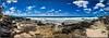 Ekaha Bay, Koloa, Kauai. (drpeterrath) Tags: panorama sun sky cloud day beach water rocks pacific ocean ekaha bay koloa kauai hawaii waves blue sand canon eos 5dsr travel