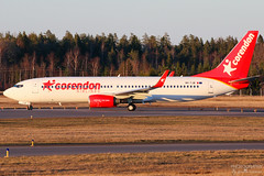 9H-TJB Corendon Airlines Europe B737-800, EFTU, Finland (Sebastian Viinikainen.) Tags: 9htjb corendon europe b737800 eftu finland rhodes oktsc smartwings