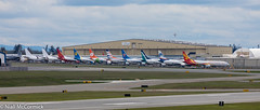 Stored Boeing 737 Max's (Niall McCormick) Tags: paine field boeing 737 max