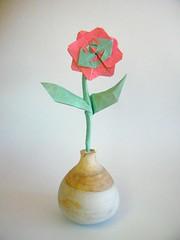 Flor - Fernando Gilgado (Rui.Roda) Tags: origami papiroflexia papierfalten fleur flower flor fernando gilgado