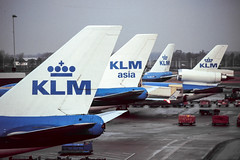 KLM tails (Martyn Cartledge / www.aspphotography.net) Tags: 747 aerodrome aeroplane air aircraft airline airliner airplane airport aspphotography aviation boeing cartledge civilairline civilairliner flight fly flying flywinglets jet klm klmasia martyn plane runway transport wwwaspphotographynet wwwflywingletscom uk asp photography