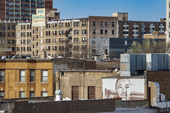 (jfre81) Tags: chicago uptown rooftops cityscape mlk martin luther king mural buildings architecture north side james fremont photography jfre81 canon rebel xs eos