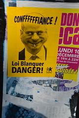 Série loi Blanquer dans les rues de Paris (Jeanne Menjoulet) Tags: école loiblanquer danger grève school france strike