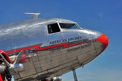 DSC_9372 (scsmitty) Tags: historic aircraft plane douglasdc3 dc3 airplane americanairlines nc17334 flagshipdetroit