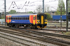 Doncaster (DarloRich2009) Tags: eastmidlandstrains emt stagecoachgroup stagecoach class153 153313 doncaster yorkshire southyorkshire doncasterstation doncasterrailwaystation ecml eastcoastmainline