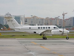 United States Air Force                          Beechcraft C12F Huron                   84-0164 (Flame1958) Tags: usaf usafc12 unitedstatesairforcec12 beech beechcraft beechc12 beechc12huron c12 c12f 840164 mnl manilaairport 110213 0213 2013 4410