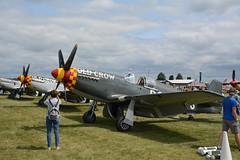 EAA2018Fri-0464 North American P-51B Mustang Old Crow 324823 NL551E (kurtsj00) Tags: eaa 2018 friday oshkosh osh18 airventure north american p51b mustang old crow 324823 nl551e
