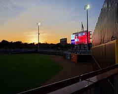 2442263633 (jalexartis) Tags: fayetteville fayettevillenc fayettevillenorthcarolina downtown downtownfayetteville segra segrastadium stadium baseball ballpark inaugralseason inaugral sunset lighting
