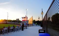 2442263409 (jalexartis) Tags: fayetteville fayettevillenc fayettevillenorthcarolina downtown downtownfayetteville segra segrastadium stadium baseball ballpark inaugralseason inaugral sunset lighting