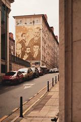 Santander, Spain (bior) Tags: fujifilmxpro2 santander spain architecture cantabria street city buildings xf35mmf14 mural