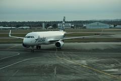 AS Airbus A320-200 N361VA (kevincrumbs) Tags: portland northeastportland portlandinternationalairport pdx kpdx alaskaairlines as airbus a320 a320200 airbusa320 airbusa320200 n361va airliner