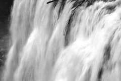 2017 Upper Mesa Falls In Monochrome 3 (DrLensCap) Tags: upper mesa falls in monochrome warm river idaho id waterfall water fall bw black and white 40 day adventure robert kramer