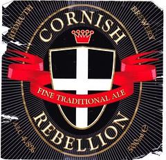 England - Redruth Brewery (Truro) (cigpack.at) Tags: truro england redruthbrewery cornishrebellion ale bier beer brauerei brewery label etikett bierflasche bieretikett flaschenetikett