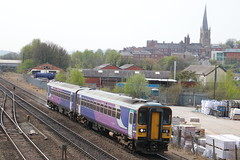 153316 + 153351 (ANDY'S UK TRANSPORT PAGE) Tags: trains chesterfield arn northern arrivarailnorth class153