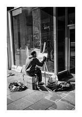 FILM - Artist (fishyfish_arcade) Tags: 35mm analogphotography bw blackwhite blackandwhite canonsureshottelemax filmphotography filmisnotdead istillshootfilm monochrome xp2 analogcamera compact film ilford mono streetphotography