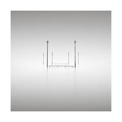Slalom (GlennDriver) Tags: black white long exposure bw blackandwhite minimal minimalism sussex uk england sea water coast nd canon filter