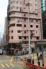 Traffic surveillance cameras atop a pole outside the Western Police Station (Marcus Wong from Geelong) Tags: saiwan hongkong2019 hongkong hongkongisland