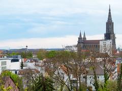 Skyline Ulm (Wolkenkratzer) Tags: ulm münster church skyline bayern bavaria