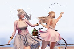 † M 70 † (BillitaUnderZone) Tags: besha post pose girls cute event seasonsstory couple dance blogger bento newreleases new avatar secondlife sl