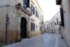 Lecce (Apulia-Italia).  Via Leonardo Prato (santi abella) Tags: lecce apulia puglia italia