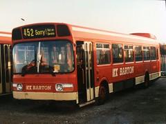 PRR 452R (nevetsyam1404) Tags: b49f 11351a1r leylandnational11351a1r langleymilldepot bartonbuses barton trentmotortraction trentbuses trent national leyland leylandnational 452 prr452r