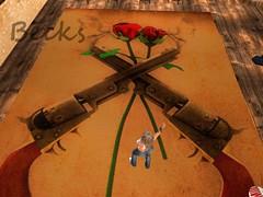 New Guns N' Roses Carpet (Becks (Rebecca)) Tags: carpet gun roses becks secondlife sl avatar avi