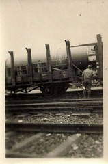 Germany, WWII, Railroad Siding, V2 Rockets (photolibrarian) Tags: germany wwii railroadsiding v2rockets reichsbahn güterzug ww2 v2