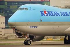 HL7610 20190423 VIE 2 (SzépRichárd) Tags: aircraft airplane airport boeing 748 korean cargo