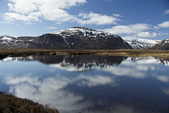 Moment of Peace (steve_whitmarsh) Tags: aberdeenshire scotland scottishhighlands highlands mountain hills landscape cairngorms water loch lake reflection topic abigfave