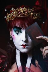 - Total eclipse of the heart - (Paz Molina) Tags: maripazmolina mujer makeup maquillaje portrait photoshop pelirroja retrato