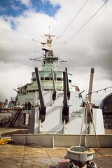 HMS Belfast 1 (Rob A Dickinson) Tags: nikon d7100 nikkor24120f4 london hmsbelfast guns