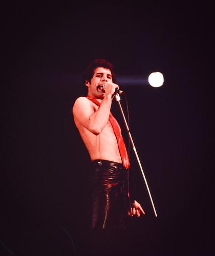 Freddie Mercury Queen Dublin 22nd November 1979