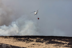 Marsden Moor fire Easter 2019 (18) (Mark Schofield @ JB Schofield) Tags: reservoir water peat moorland bog moss agriculture yorkshire huddersfield wessenden head pule buckstones scammonden royd edge valley holme colne marsden meltham digley march haigh west nab deer emley mast thenationaltrust helicopter heliliftservices fire burn douse bomb n35eh