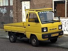 1987 Suzuki Carry Pickup (harry_nl) Tags: netherlands nederland 2019 haarlem suzuki carry pickup by56ks sidecode4