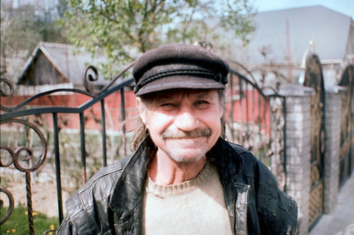 old man from Zakarpattia