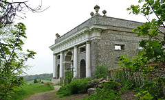 D21143.  The Dashwood Mausoleum. (Ron Fisher) Tags: buckinghamshire nt nationaltrust building architecture countryestate england homecounties gb greatbritain uk unitedkingdom europe europa panasonic lumix fz1000 panasoniclumixfz1000 westwycombe dashwoodmausoleum westwycombehill