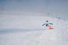 Downhill in Hibiny (Dmitry Tufanov) Tags: sony a6500 swnoboard girl snow hibiny