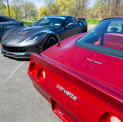 A Week of Corvettes @ The Works Auto Center (shiftdnb) Tags: albany nikon d3s theworksautocenter detailing nikkor corvette ceramicpro ny