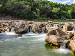Sculpture Falls | P4220860-62_Median (:munna) Tags: sculpture falls bartoncreekgreenbelttrailaustin texas barton creek greenbelt trail