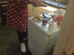 Joe Got Party Food (teganweldon) Tags: jam sausage roll pizza mini boxing day joe taylor aimee dexter rudie sandwich party food