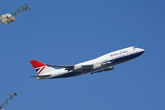 G-CIVB Heathrow 20-04-19 (IanL2) Tags: britishairways boeing 747 jumbo gcivb retroliveried negus airliners aircraft london heathrow airport