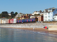 150238 Dawlish (1) (Marky7890) Tags: gwr 150238 class150 sprinter dawlish railway devon rivieraline train
