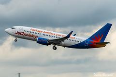 [CDG] Jet2 Holidays Boeing 737-300 _ G-GDFM (thibou1) Tags: boeing ggdfm cdg lfpg airplane d7100 b733 aircraft jet2holidays thierry bourgain thierrybourgain spotting nikon tamron sigma b737 boeing737 b737300