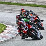 Mopar Pro Superbike Series - #12 Mitch Card, #229 Darren James - CTMP thumbnail