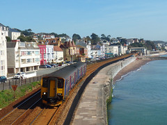 150238 Dawlish (Marky7890) Tags: gwr 150238 class150 sprinter 2f25 dawlish railway devon rivieraline train 2t12